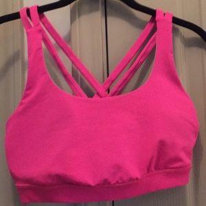 Lululemon Energy Bra Pink